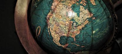 globe du monde amériques