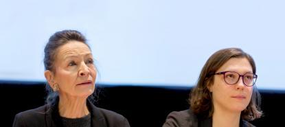 Anne Kupiec et Raphaëlle Pointereau