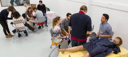 Plateforme de simulation en santé iLumens Diderot