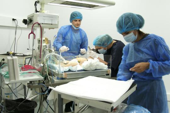 Centre de simulation en santé iLumens Paris Diderot